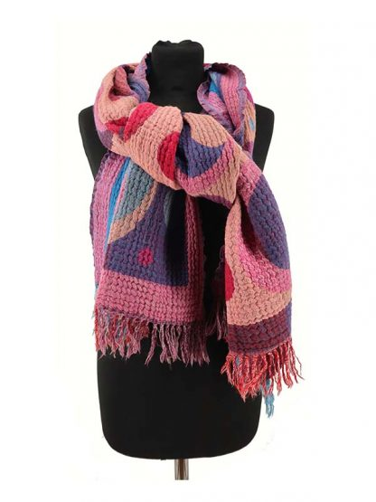 Warme wollen sjaal