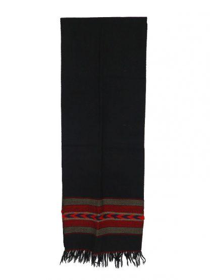 Zwarte wollen herensjaal 1c