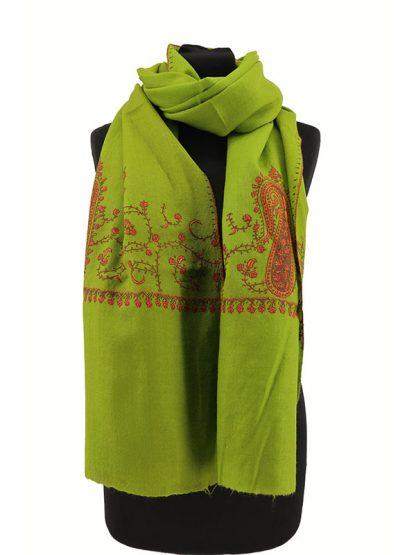 groene pashmina