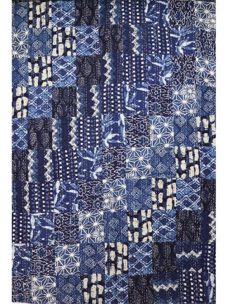 blauwe grand foulard