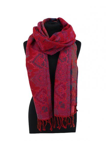 jamawar sjaal roze