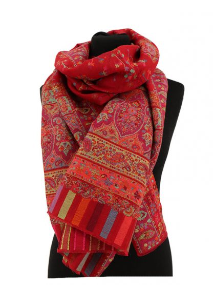 rode kani pashmina sjaal