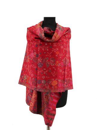 rode kani sjaal