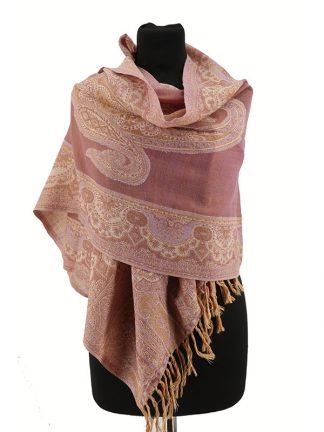 lila roze shawl