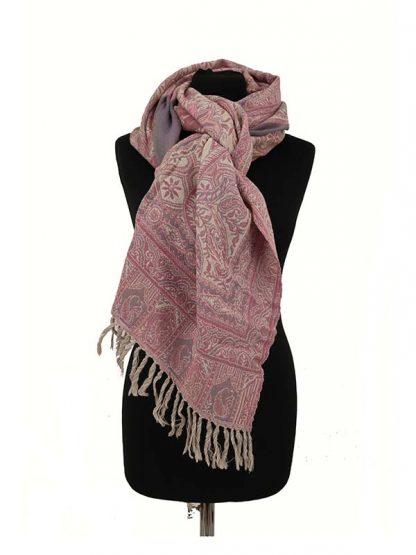 roze lila shawl
