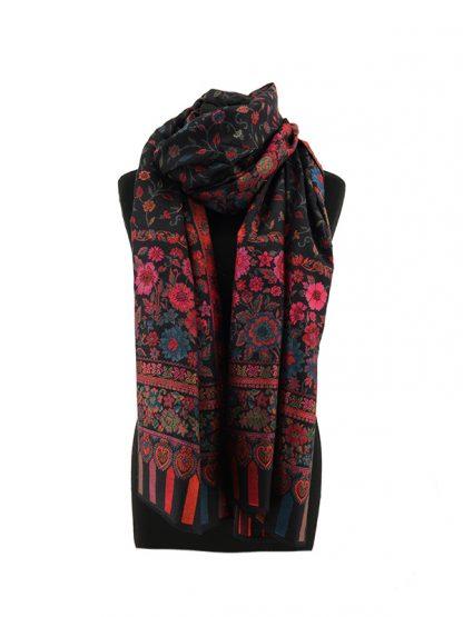 zwarte kani sjaal