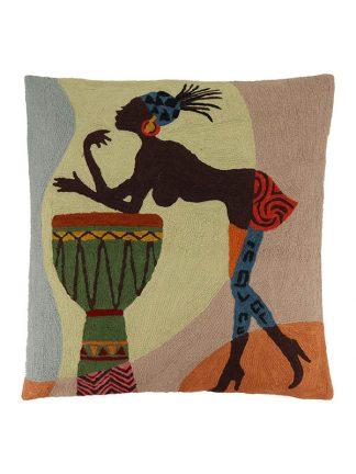 Kussen Afrikaanse Vrouw