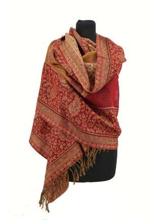 klassieke wollen sjaal