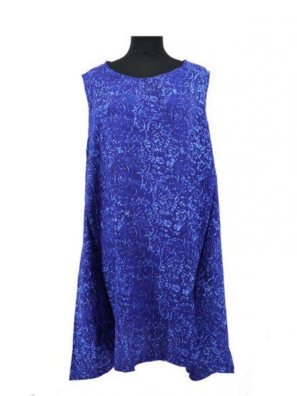 batik jurkje blauw