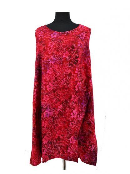 batik jurkje rood