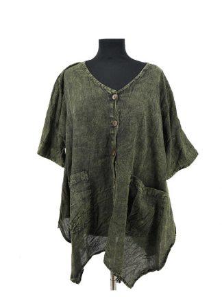effen plussize bloes groen