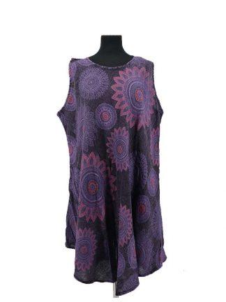 paarse jurk ton sur ton