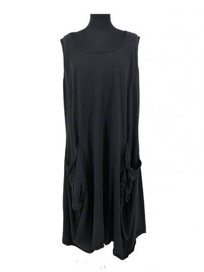 zwarte jurk grote maat